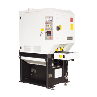 Flexible and efficient deburring, edge rounding, and finishing machine