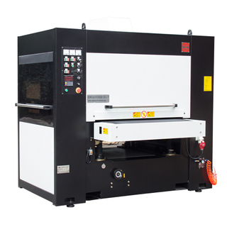 Laser cutting parts deburring and edge rounding machine focused on contours and edges ONLY