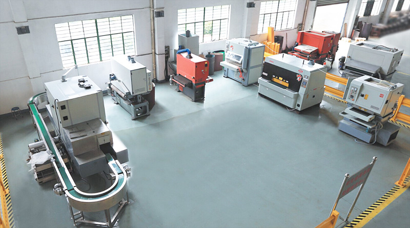 Xiangsheng metal surface treatment services center set up