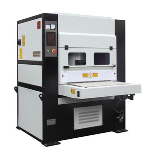 High efficiency and cost effective deburring, edge rounding, and surface finishing machine